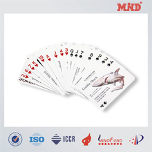 MDC0049 rfid custom plastic card deck boxes & rfid playing cards