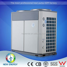 air exchanger with hydrophilic coating 10.5KW rated heating dc inverter r410a refrigerant air conditioner rotate type