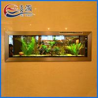BG China Supplier Home Decorations Wall Hanging Aquarium