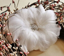 Beautiful White Bridal Flower Headpiece