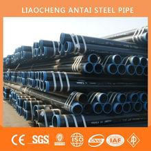 ASTM A106Gr.B 8inch sch 40 black seamless steel pipe