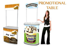 Promotion Table With Top/Advertising Exhibition Display