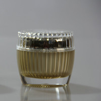 100ml,200ml,500ml amber,blue,green glass jar with aluminium lid,glass cosmetic jar,cosmetic container