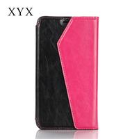 Unique design, pu leather crazy-horse material leather, mobile phone hard case cover for nokia lumia 540