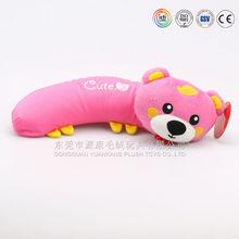 Best made stuffed plush animal shaped cushion^&pillow&travel baby neck pillow