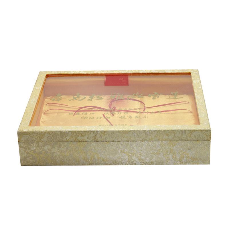 Gıda için temizle pencere ile çin toptan ahşap el yapımı kutuları/hediye/tonik