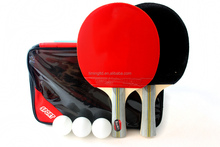 High quality real wood table tennis racket