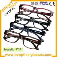 New design thinner Acetate men's spectacle frame (8553)