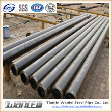 ASTM A106 GR.B seamless steel pipe line pipe