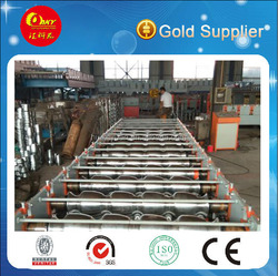 New condition 6 ribs and corrugated double layer machine