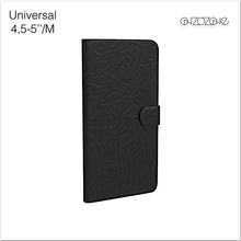 "Ultra slim smart phone case for 4.3""-5"" inch leather cases"