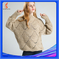 Fashion Factory Price Dip Dye Branded Woolen Sweater New Designs For Ladies
