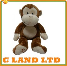 EN71 kids baby girl cute plush monkey
