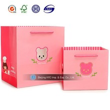 Chinese Factory OEM Production Customized handle Paper Gift Bag&Gift Paper Bag