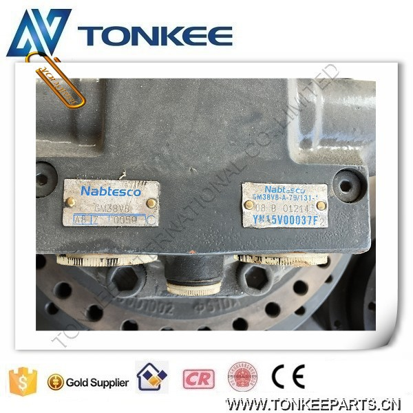 YN15V00037F2 NABTESCO GM38VB-A-79-131 SK200-8 travel motor final drive device (7).jpg