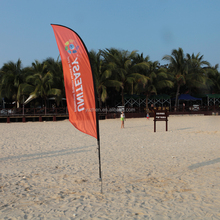 Beach Flag for Sport Events Promotion and Exhibition Display