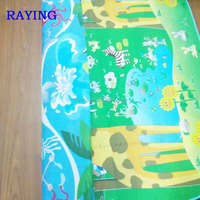 Baby Care Play Mat Reversible Large EPE Activity Center (The giraffe /the sea)