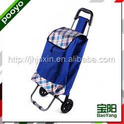 foldable shoping trolley cart hard trolley case