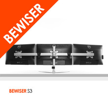Low Price Triple monitor stands - 3 ways Free standing - Monitor Holder
