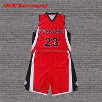 2014 custom printed red basketball jersey uniform