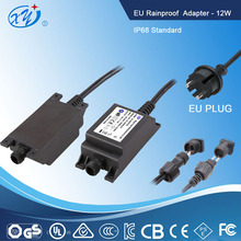 GS TUV CE Rohs desktop waterproof switch power supply 12v