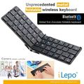 Teclado inalámbrico para Tablet pc, Bluetooth inalámbrico plegable, Mini teclado Bluetooth para Samsung Galaxy S4
