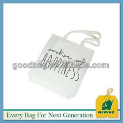 custom souvenir sublimation blank canvas tote bag