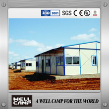 Top 10 Sale Good Painting Light Steel Frame Modular Prefab Home K Type Mobile House In WELLCAMP