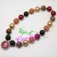 Cordial Design New Arrival Fashion Bead Kids Jewelry Bubblegum Inspired Necklaces Jewelry