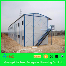 Easy to build the prefab steel house economic prefabricated houses