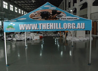 3x3m pop up hexagonal heavy duty aluminum frame pop up canopy gazebo tent
