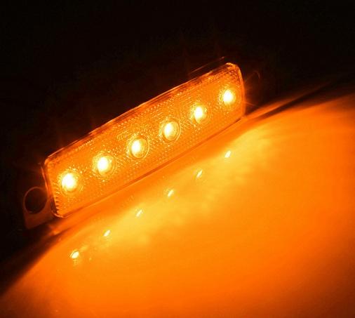 주도 측 마커 등 트럭을위한 주도 사이드 마커 램프 12v/24v 주도 ...