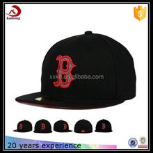 embroidery logo designs custom flex fit plain factory snap back hats