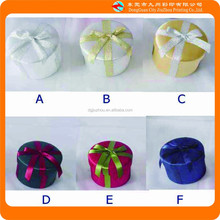 customize all kinds of color small beautiful paper round box