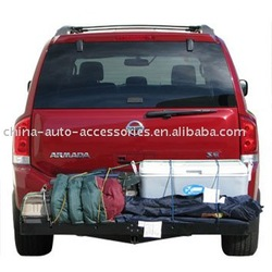 Folding Hitch Mount Cargo Carrier