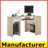 Hot sale morden wooden desk top computer, computer table,desks