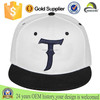 Trade assurance supplier white and black snapback cap 3D embroidery custom logo snapback cap