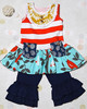 2015 girls ruffle outfit wholesale children boutique clothing set girls clothing boutique remakes toddler girls boutique clothes