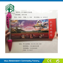 Gift Advertising Banner Pen, Plastic Flag Promotional Pens, Banner Flag Scroll Info Pen