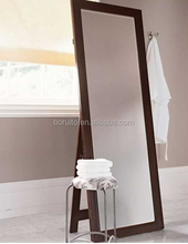 Floor dressing mirror with white color new design good quality