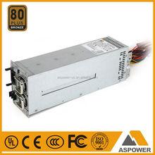 2U redundant power supply 2U server case support ATX / power supply