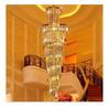 Large gold material pendant crystal lamp wonderful pendant light fixtures