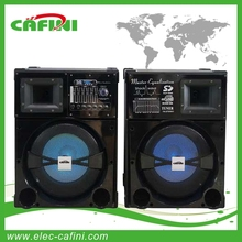 2015 NEW HOT BEST 2.0 12inch Stage Speaker Outdoor Speaker with SD FMradio USB Bluetooth