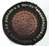 Cable manufacture single core cable 300sqmm copper conductor low voltage xlpe cable