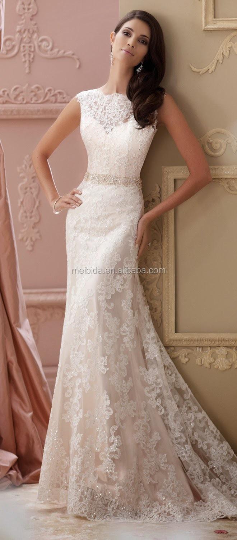 Hochzeitskleid Materialien