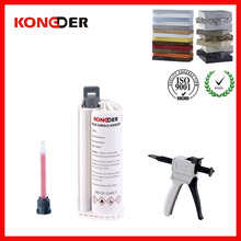 Hot selling construction materials glue for reception counters and Bar counters ,artificial marble adhesive
