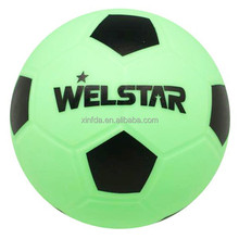 Chinese Manufacture Bright Color Small PVC Football Zorb Ball
