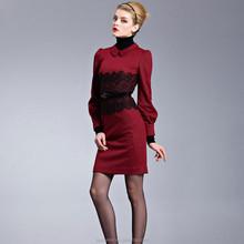 New arrival women female design fashion korean ladies lace dress