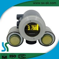 Propane External Ultrasonic Liquid Static Fuel Tank Level Meter/Gauge High Temperature