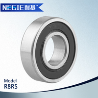 China supplier Cixi Negie manufacture high precision R8 bearing for motorcycle parts